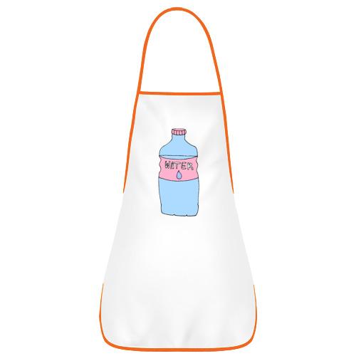 Фартук с кантом Бутылка воды