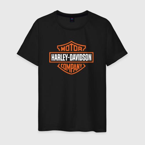 Мужская футболка хлопок Харлей Дэвидсон