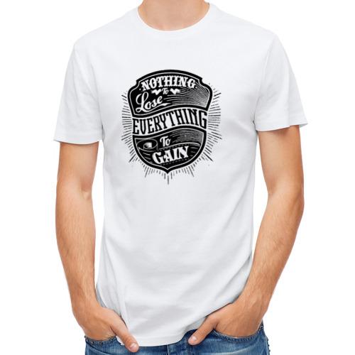 Мужская футболка полусинтетическая  Фото 01, Нечего терять
