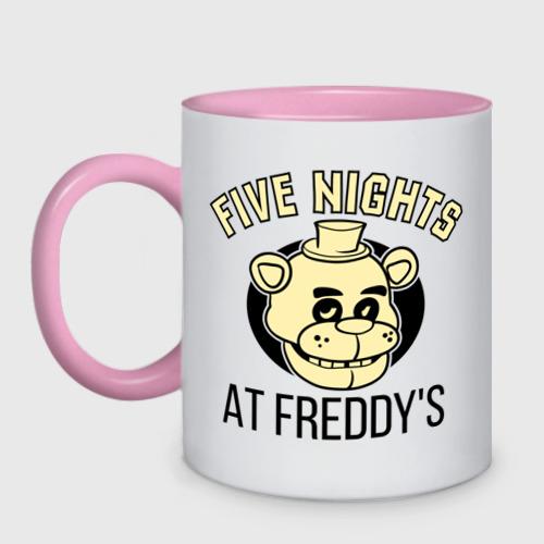 Кружка двухцветная  Фото 01, Five Nights At Freddy's