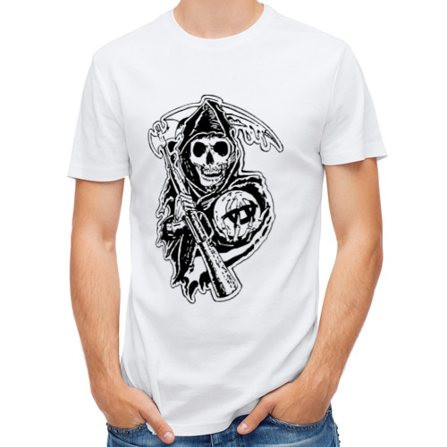 Мужская футболка полусинтетическая  Фото 01, Sons Of Anarchy