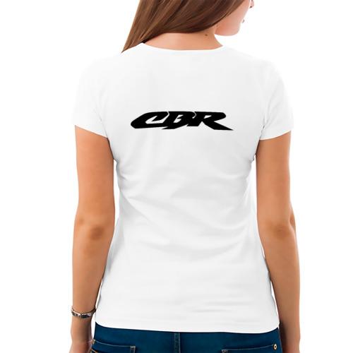 Женская футболка хлопок  Фото 04, Honda CBR