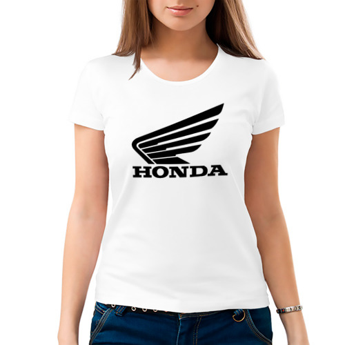 Женская футболка хлопок  Фото 03, Honda CBR
