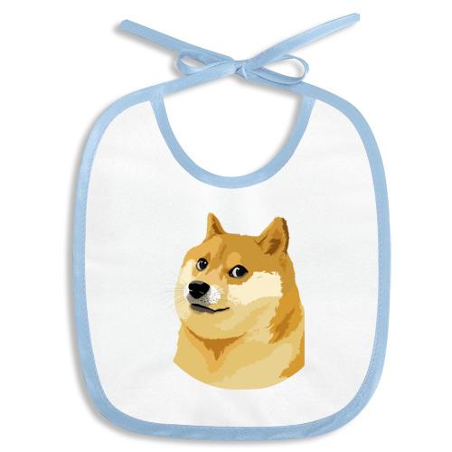 Слюнявчик Doge
