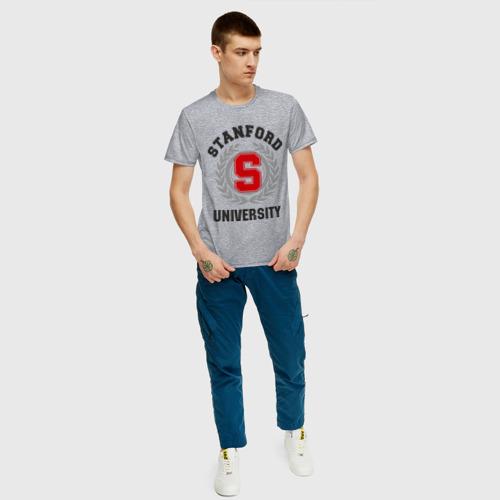 Мужская футболка хлопок Стэнфорд Фото 01