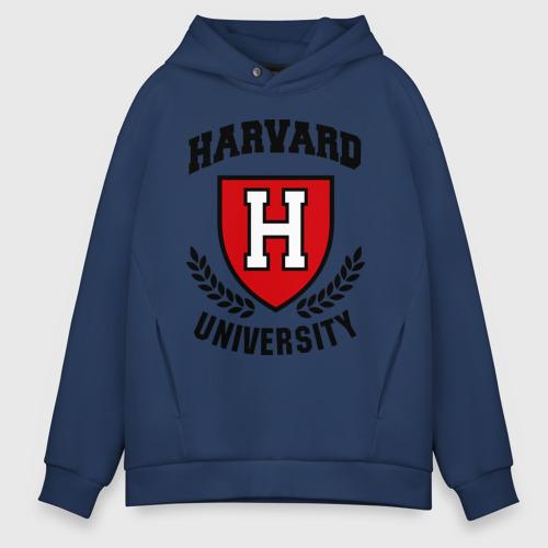 Мужское худи Oversize хлопок Гарвард Фото 01