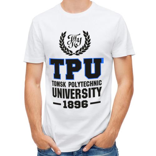 Мужская футболка полусинтетическая  Фото 01, Томский политехнический