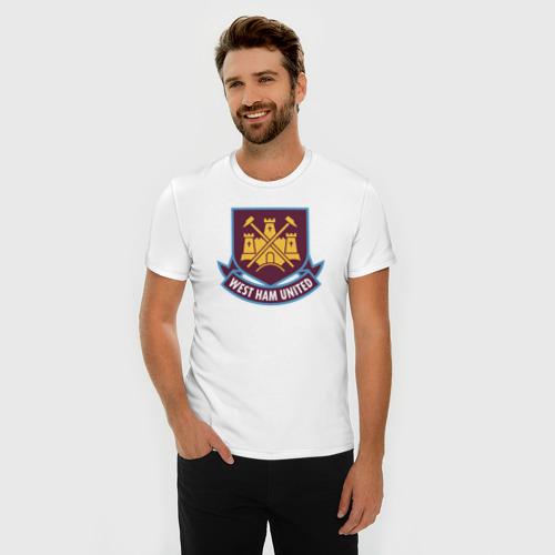 Мужская футболка премиум  Фото 03, Вест Хэм, BPL, West Ham