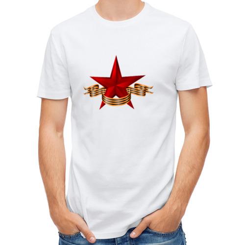 Мужская футболка полусинтетическая  Фото 01, 9 Мая