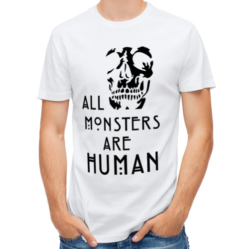 Мужская футболка полусинтетическая  Фото 01, Monsters