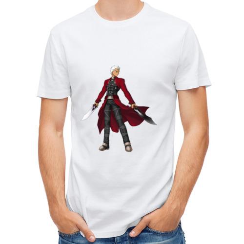 Мужская футболка полусинтетическая  Фото 01, Fate stay night Archer