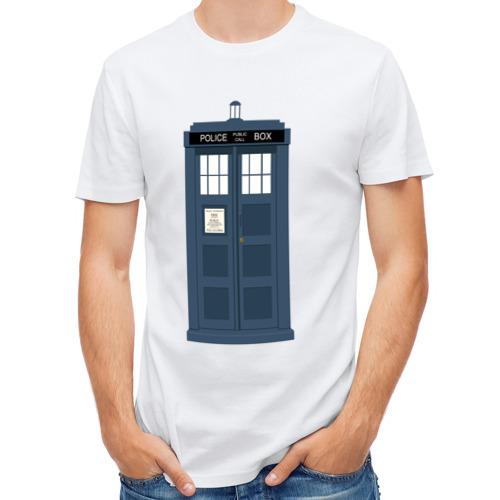 Мужская футболка полусинтетическая  Фото 01, TARDIS