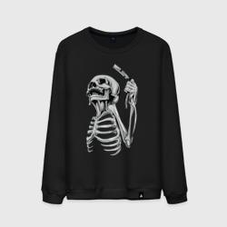 Скелет с бритвой