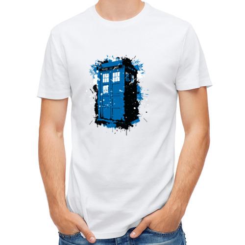 Мужская футболка полусинтетическая  Фото 01, Тардис