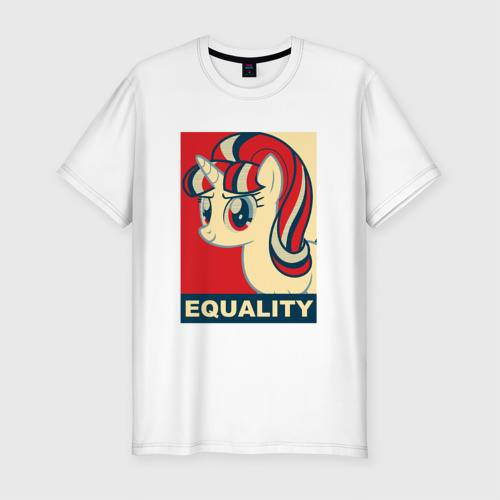 Мужская футболка премиум  Фото 01, Starlight Glimmer: Equality