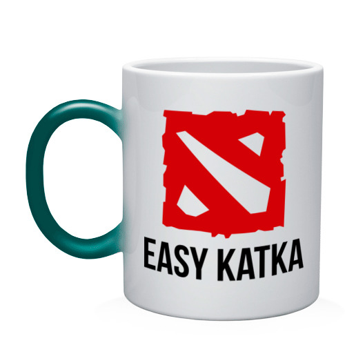 Easy katka (кружка хамелеон) фото 0
