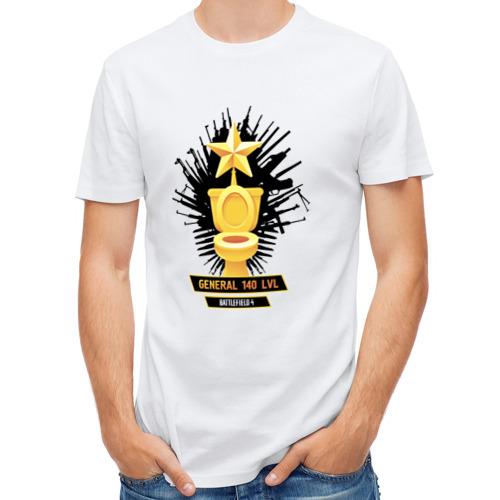 Мужская футболка полусинтетическая  Фото 01, Генерал 140-уровня