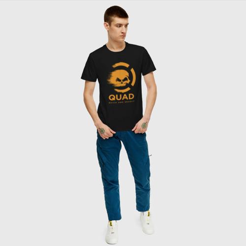Мужская футболка хлопок QuaD - Quick and Deadly Фото 01