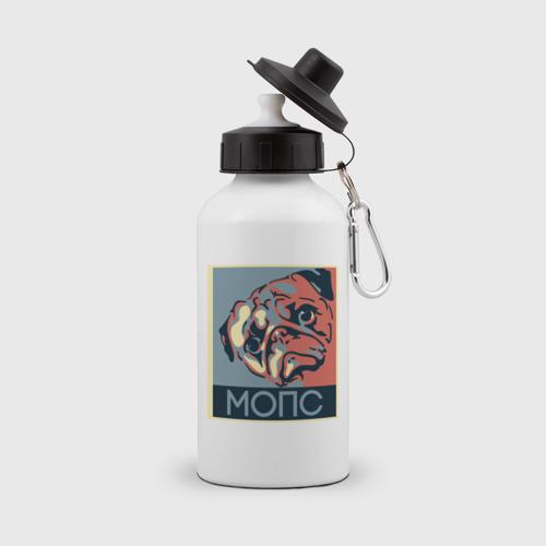 Бутылка спортивная Мопс