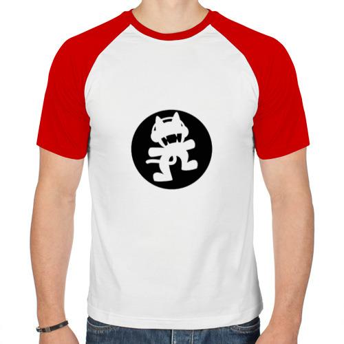 Мужская футболка реглан  Фото 01, Black Monstercat