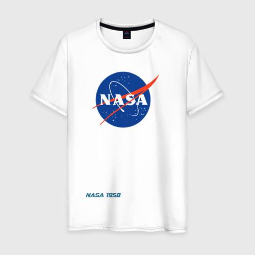 Мужская футболка хлопок Nasa Фото 01