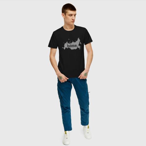 Мужская футболка хлопок Home - Россия Фото 01