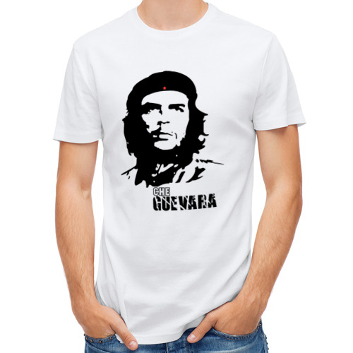 Мужская футболка полусинтетическая  Фото 01, Эрнесто Че гевара