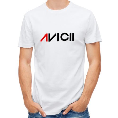 Мужская футболка полусинтетическая  Фото 01, Avicii