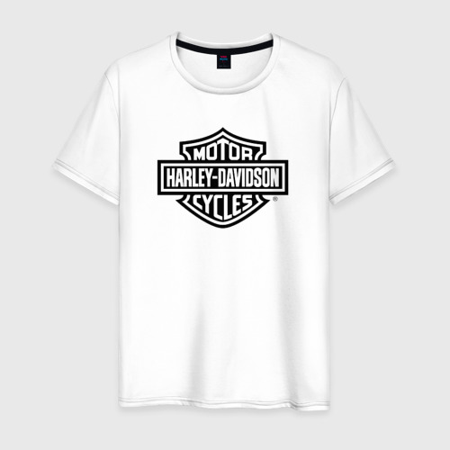 Мужская футболка хлопок Harley-Davidson ( 1 )
