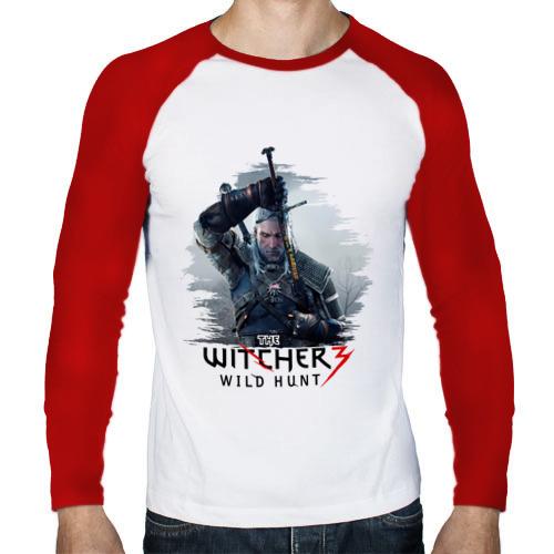 Мужской лонгслив реглан  Фото 01, The Witcher 3