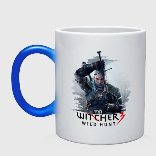 Кружка хамелеон The Witcher 3