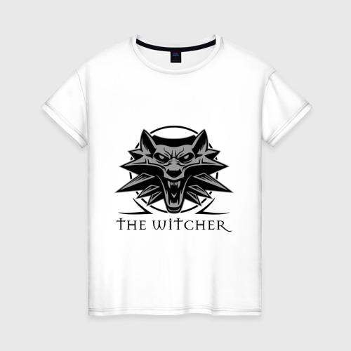 Женская футболка хлопок The Witcher 3