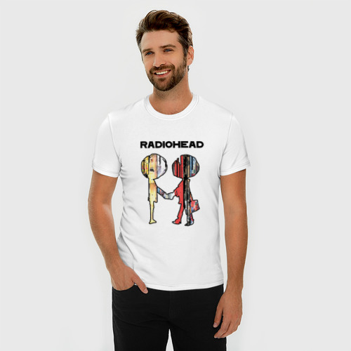 Мужская футболка премиум  Фото 03, Radiohead