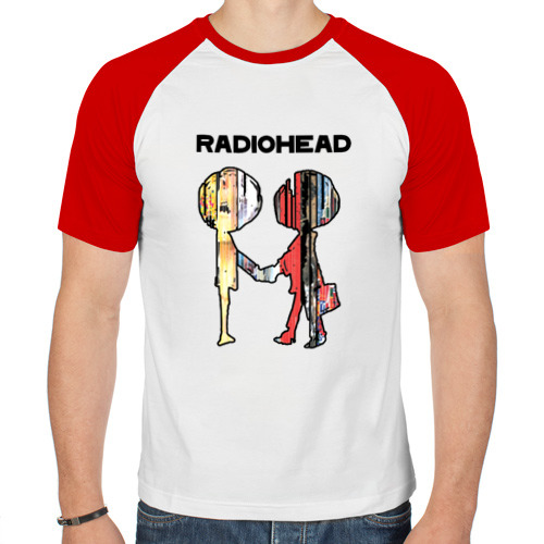 Мужская футболка реглан  Фото 01, Radiohead