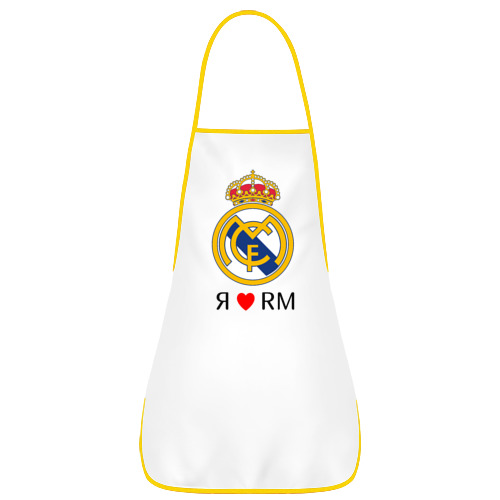 Фартук с кантом Я люблю Реал Мадрид