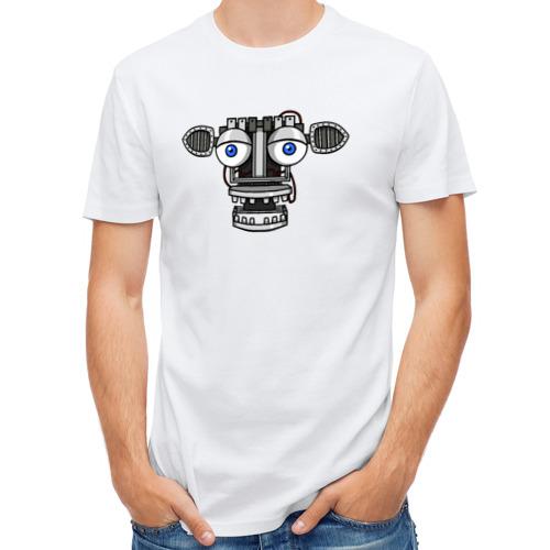 Мужская футболка полусинтетическая  Фото 01, Endoskeleton FNAF