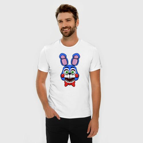Мужская футболка премиум Toy Bonnie FNAF Фото 01