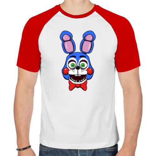 Мужская футболка реглан  Фото 01, Toy Bonnie FNAF