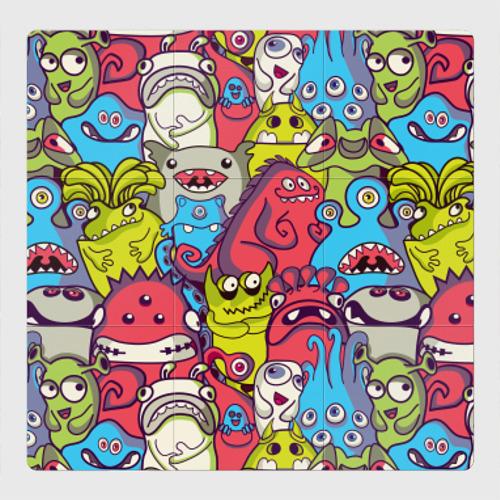 Магнитный плакат 3Х3 Пришельцы