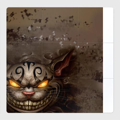 Магнитный плакат 3Х3 Чеширский кот
