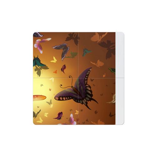 Магнитный плакат 2Х2 Бабочки