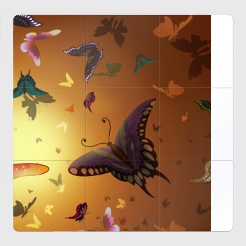 Магнитный плакат 3Х3 Бабочки