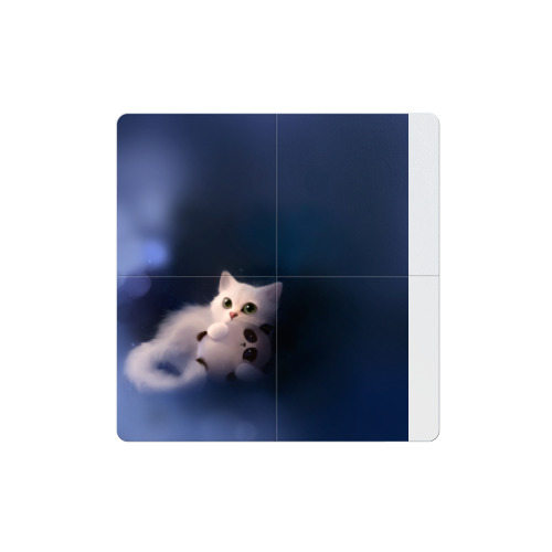 Магнитный плакат 2Х2 Котенок