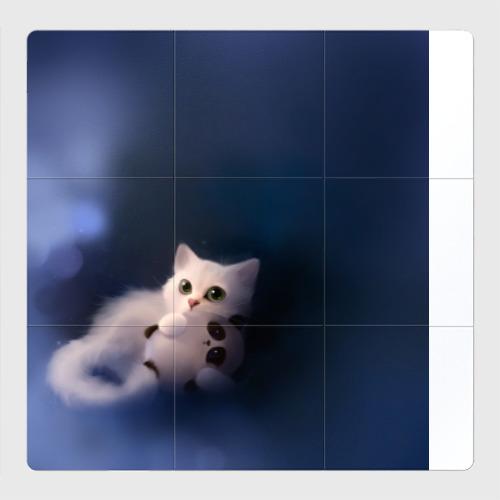 Магнитный плакат 3Х3 Котенок