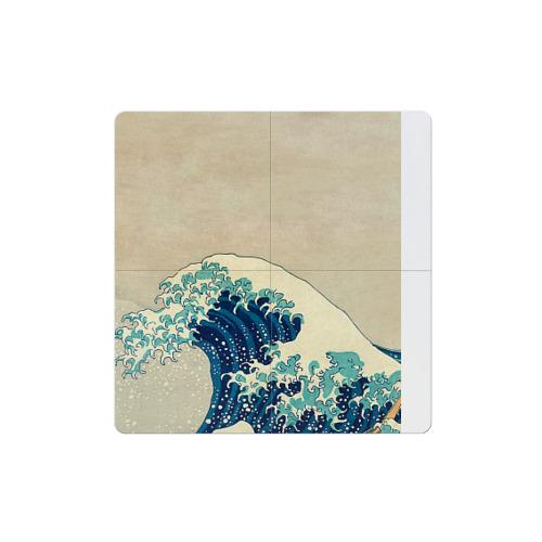Магнитный плакат 2Х2 Большая волна в Канагаве