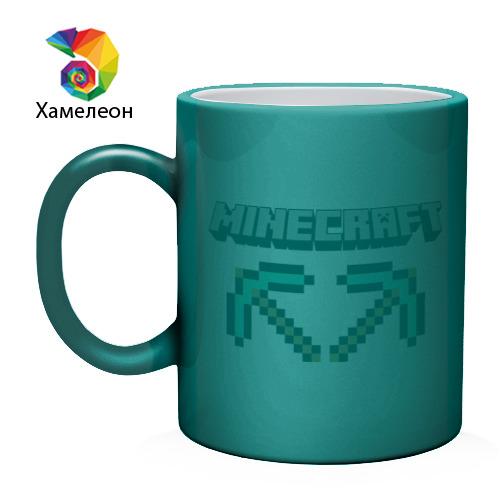 Кружка хамелеон  Фото 02, Minecraft