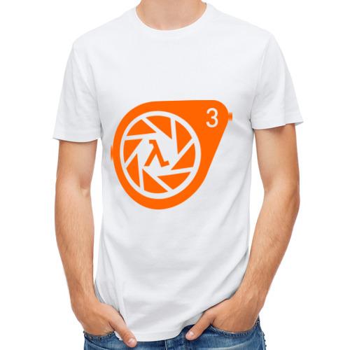 Мужская футболка полусинтетическая  Фото 01, Half-Life 3