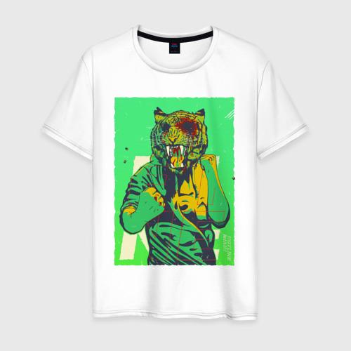 Мужская футболка хлопок  Фото 01, Tiger