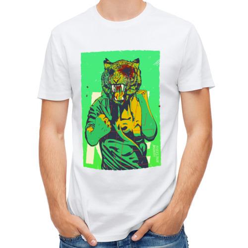Мужская футболка полусинтетическая  Фото 01, Tiger