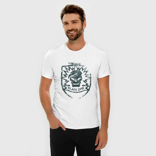 Мужская футболка премиум  Фото 03, Black OPS